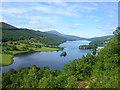 NN8659 : Queen's View of Loch Tummel by Richard Slessor