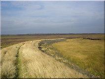 SD9620 : Footpath along embankment near Light Hazzles Reservoir by Phil Champion