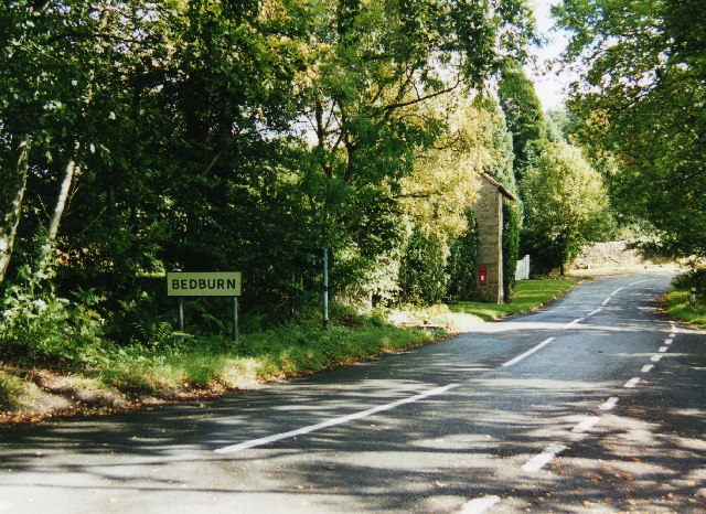 Road through Bedburn