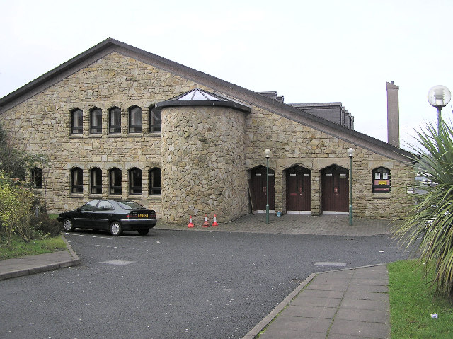 St. Joseph's Hall, Church Street, Omagh by Kenneth  Allen