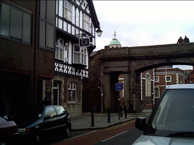 'Liverpool Arms' Pub, Northgate Street, Chester.