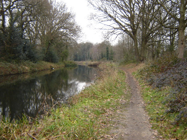 Basingstoke Canal in Aldershot