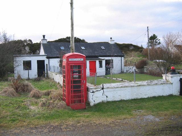 Phone Box at Bernisdale