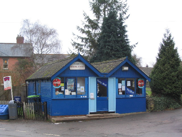 Village shop, Corby Glen