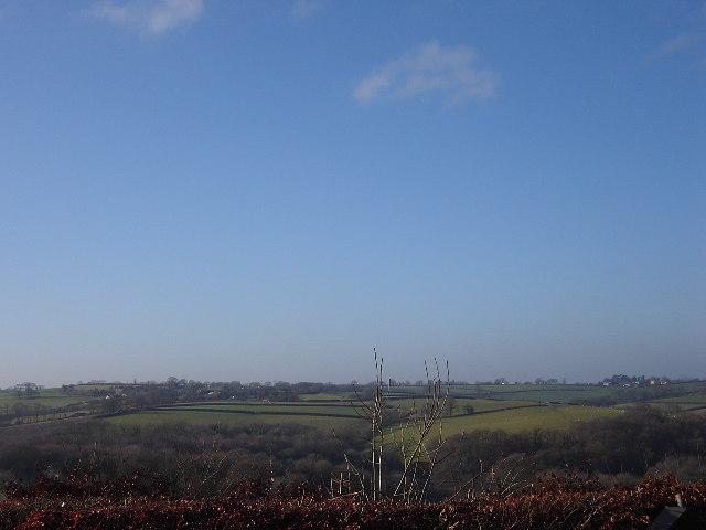 View towards Bransgrove