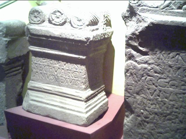 Roman Stones Gallery Grosvenor Museum