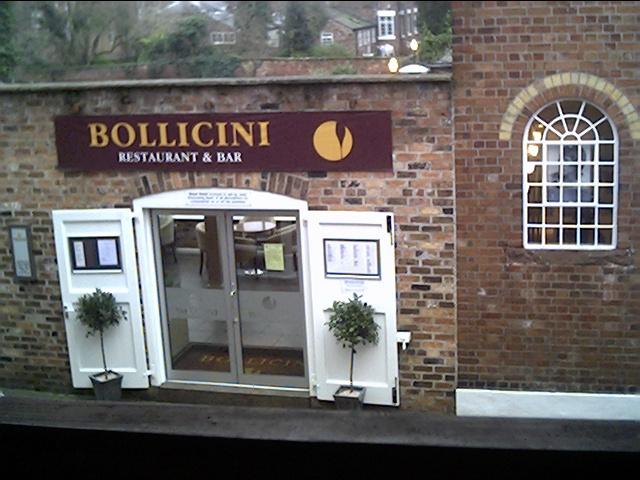 Bollicini bar/restaurant 2 Abbey Green