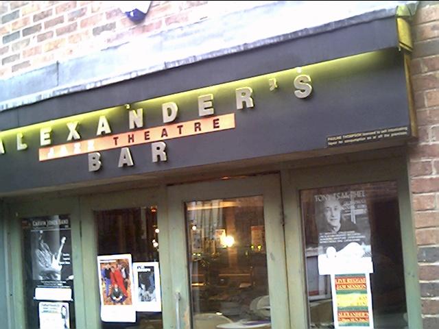 Alexander's Jazz Theatre Bar Rufus Court
