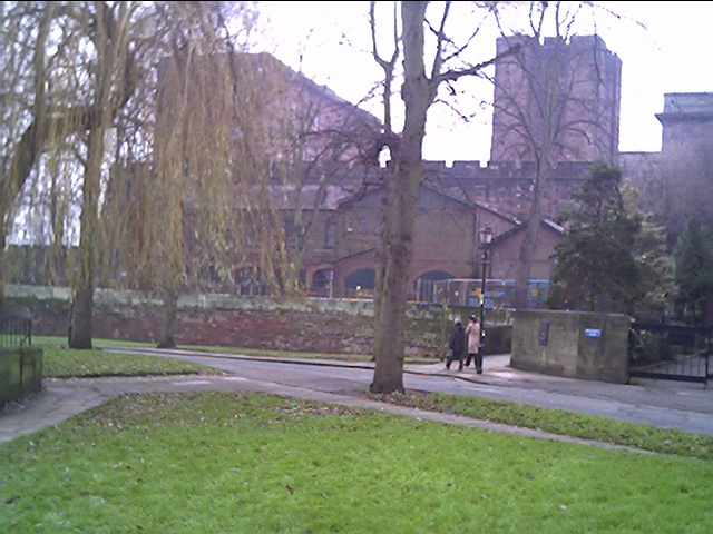 The rear of Chester Castle showing Agricola's Tower