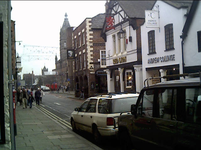 Northgate Street  looking towards Town Hall Square