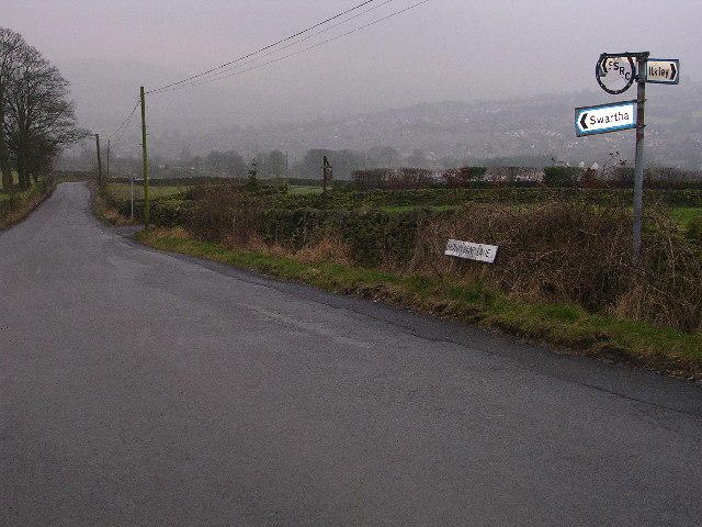 Road to Addingham Moorside, Silsden