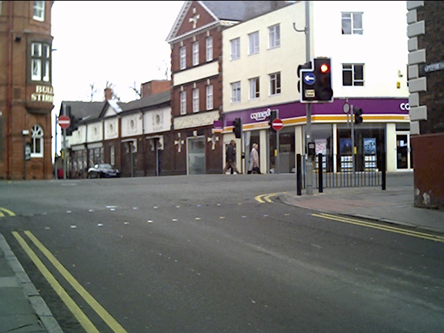 Junction of Northgate Street and Upper Northgate Street