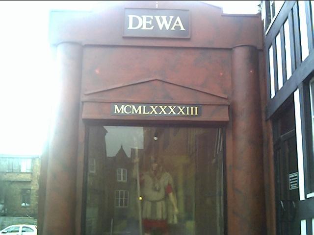 Dewa Roman Experience, Chester.