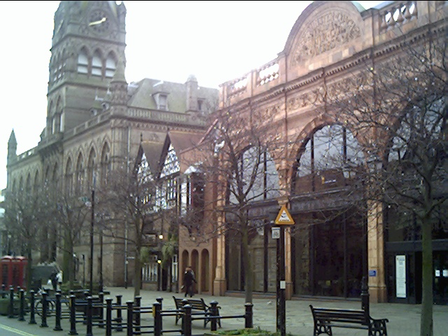 Chester Town Hall and Library