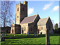 ST1939 : St. Mary's parish church, Nether Stowey by Martin Southwood