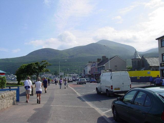 Newcastle Co Down, Central Promenade