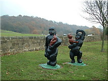 SE0026 : Gorillas next to the Rochdale Canal by Nigel Homer