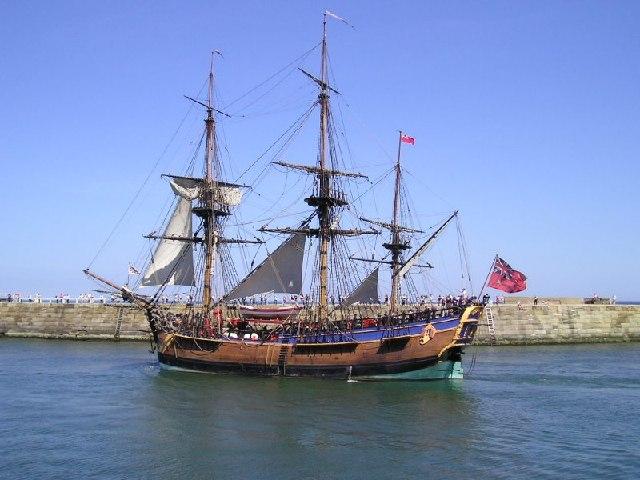 """Captain Cook's Boat """"Endeavour"""""""