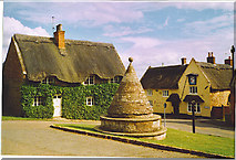 SP7896 : Butter Cross, Hallaton by Colin Smith