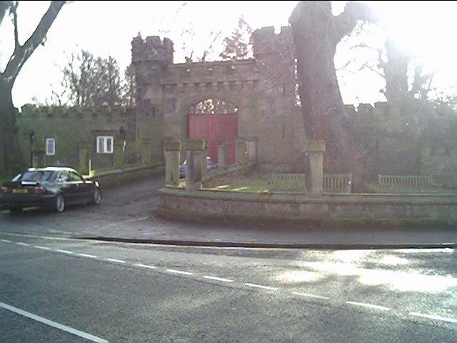 Hawarden Castle Gates