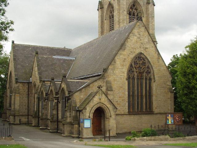 St Matthias, Burley from St Matthias Street, Leeds