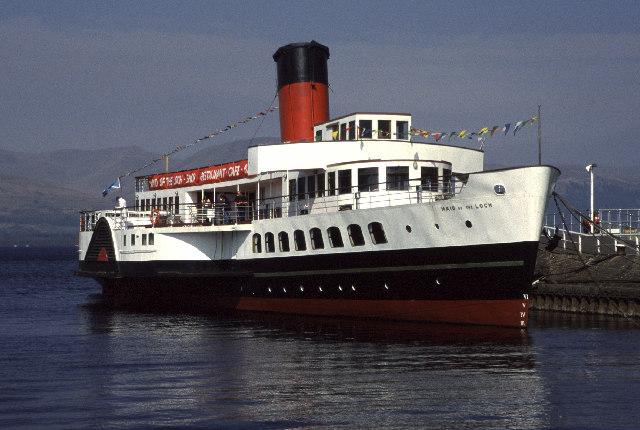 Maid of the Loch, Balloch Pier