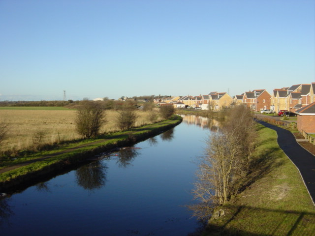Leeds-Liverpool Canal from Ledson's Bridge, Waddicar