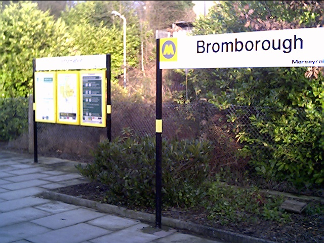 Bromborough Station