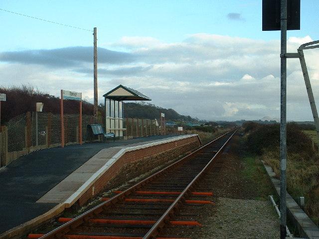 The tiny Abererch Station