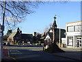 SJ3482 : Bromborough Cross Village Centre by Sue Adair
