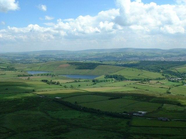 Upper & Lower Black Moss Reservoir
