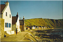 NJ8065 : Crovie seafront by Colin Smith