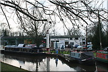 SO9262 : Hanbury Wharf from the Eagle and Sun public house by Patricia Allen