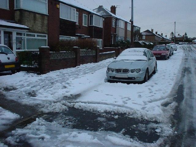 Snowy Day on Calverley Lane