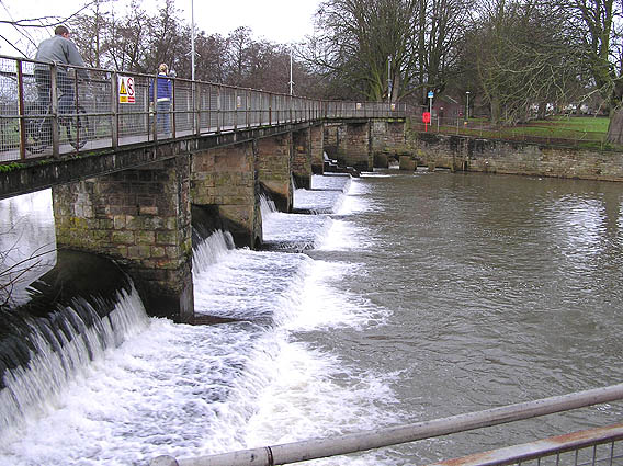 French Weir, River Tone