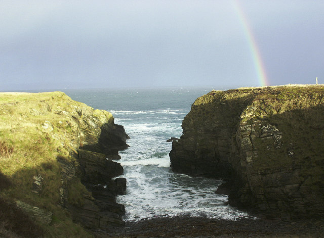 Geo, Scarfskerry, Caithness