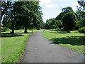 NZ2871 : Small park. Killingworth by Chris Tweedy