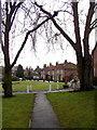 SE6947 : Elvington Village Green by Andy Beecroft