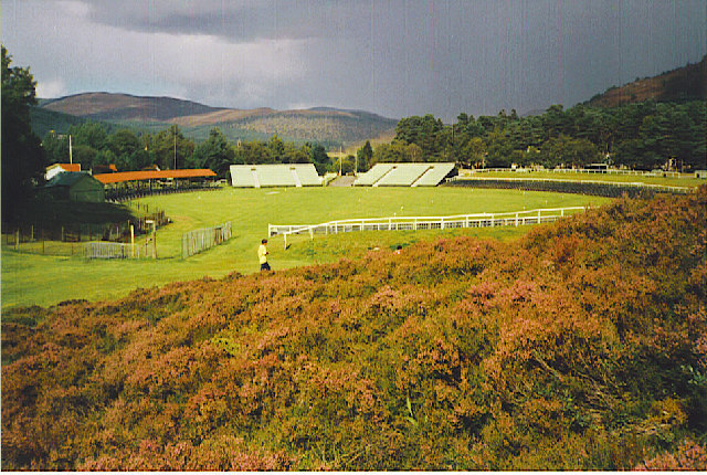The Royal Highland Games Arena, Braemar