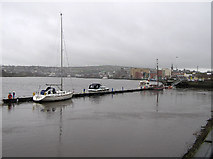 C4317 : The quayside at Derry / Londonderry by Kenneth  Allen