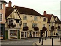 TL8522 : White Hart Hotel, Coggeshall, Essex by Robert Edwards
