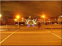 O1634 : Tourist-attraction bridge, Dublin by Paul Johnston-Knight