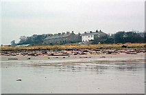 NU0052 : Coast guard houses and Deavon Terrace, Berwick by Stafford Little