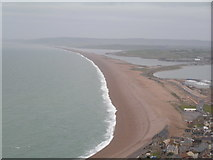 SY6774 : Chesil Beach (Southern end) by N Chadwick