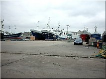 NK0066 : Fraserburgh, South Harbour by Christopher Gillan