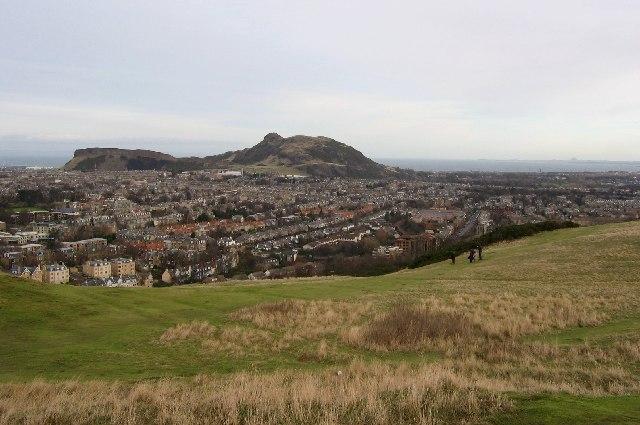 On Blackford Hill