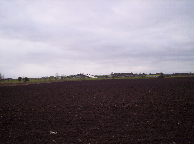 Ploughed Field With RM Condor in the Background