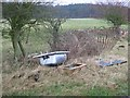 NT3657 : Bath in a field, Middleton by Richard Webb