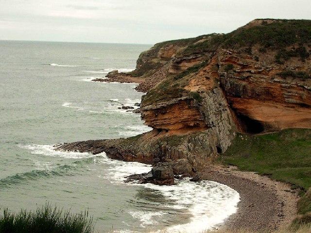 Clashach Cove by Hopeman