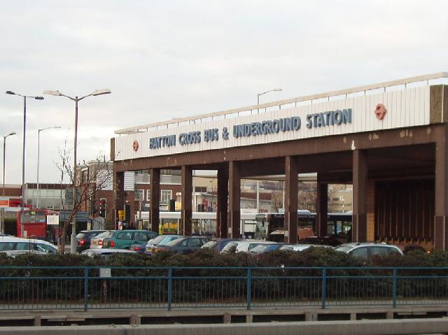 Hatton Cross Bus and Underground Station
